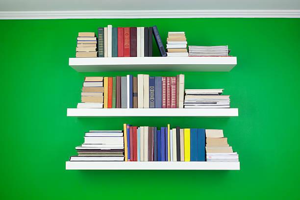Bücher über die Regal – Foto