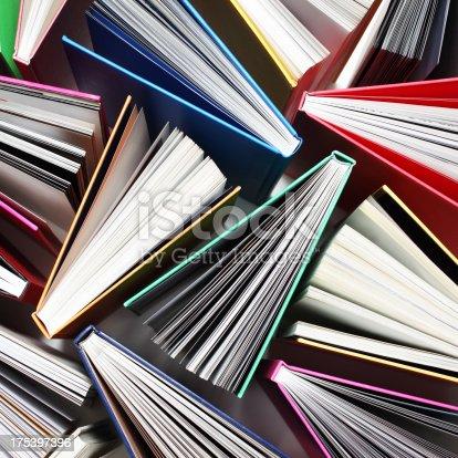 istock Books Pattern 175397396
