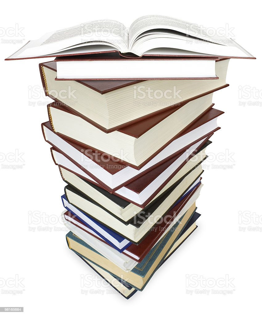 I libri foto stock royalty-free
