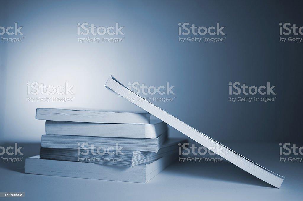 books series stock photo