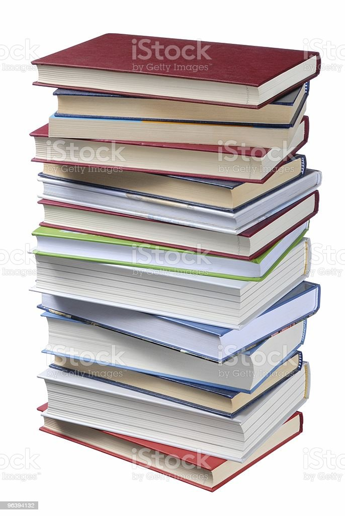 Books Stack - Royalty-free Book Stock Photo