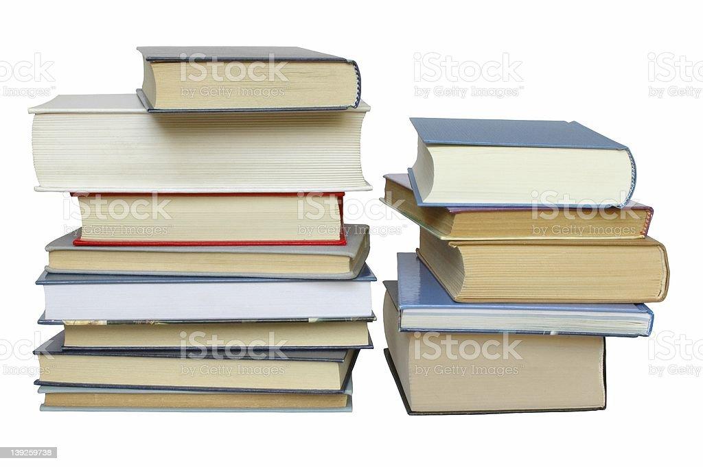 Books stacks royalty-free stock photo