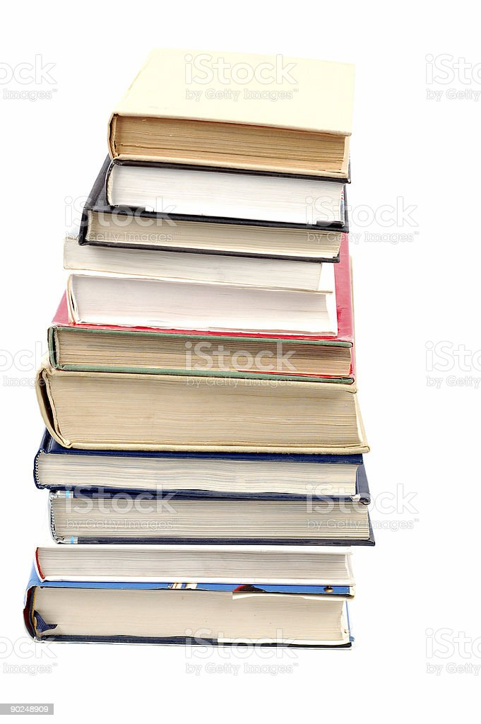 books tower #6 royalty-free stock photo