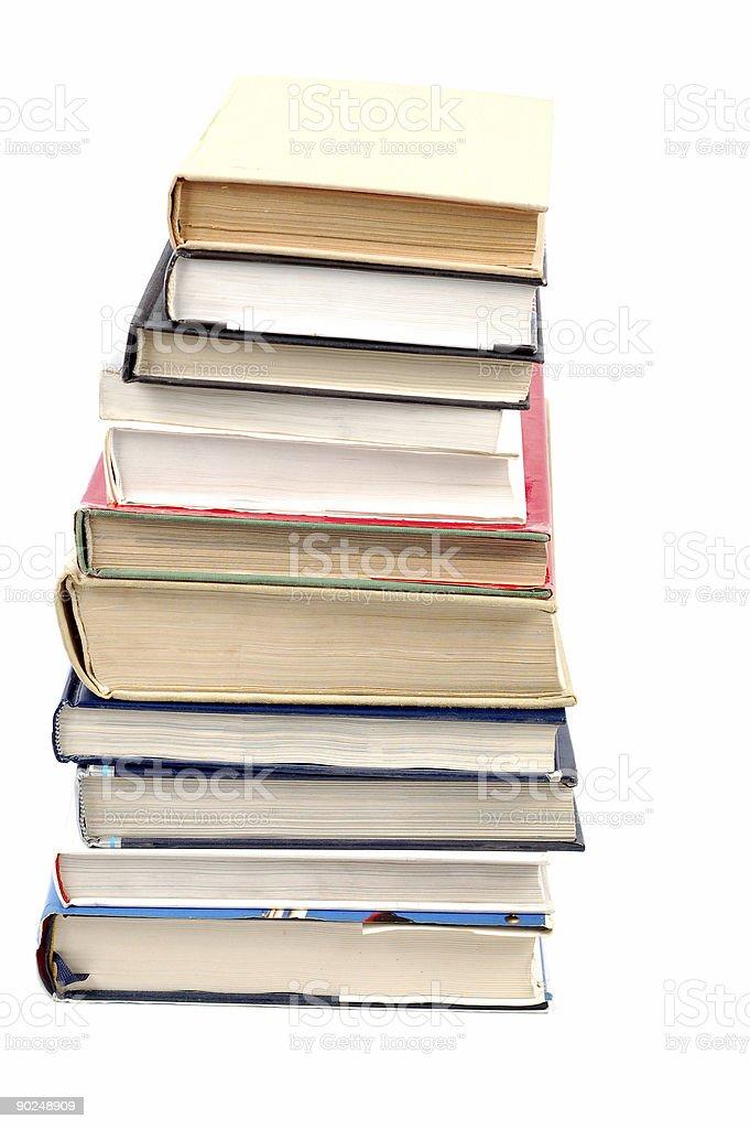 books tower #6 stock photo