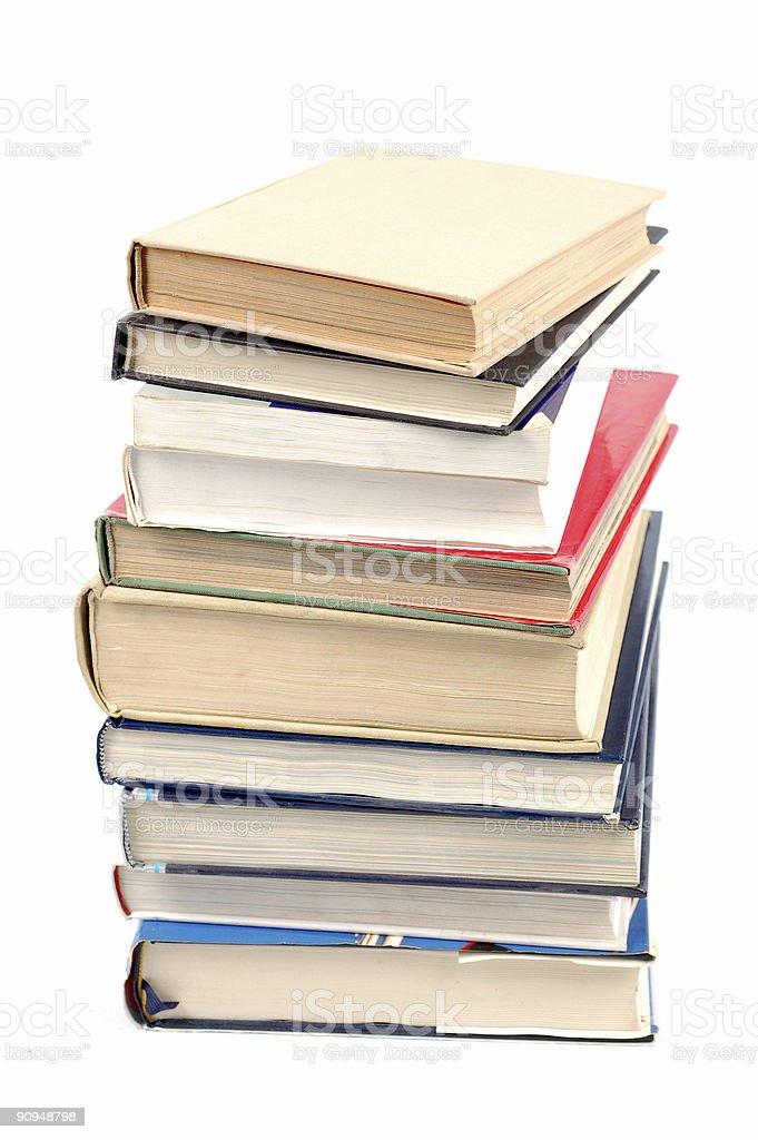 books tower #5 stock photo