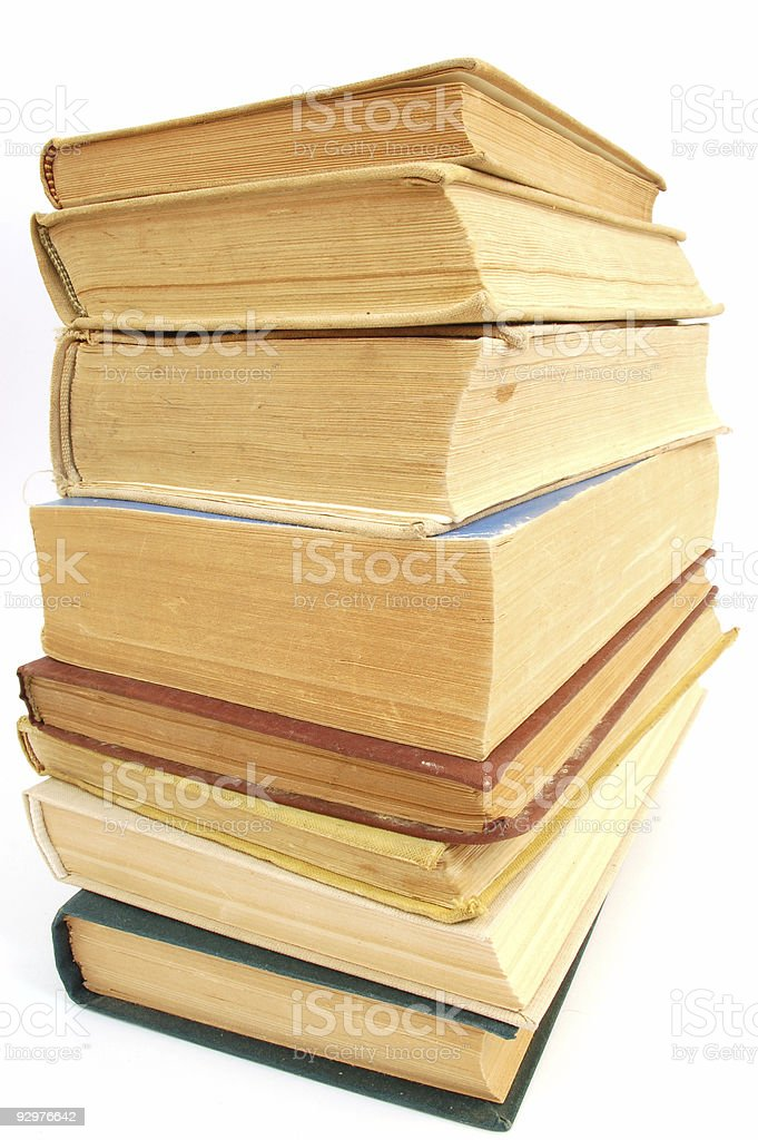 books tower #3 stock photo