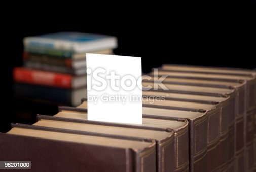 Books With Copy Space Stock Photo & More Pictures of Black Background