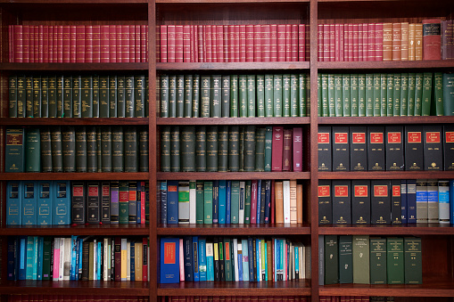 Bookshelf of Irish Legal Books