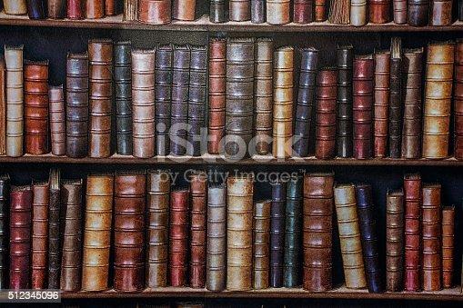 istock Bookshelf wallpaper. 512345096