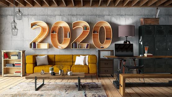 2020 BookShelf with Cozy Interior