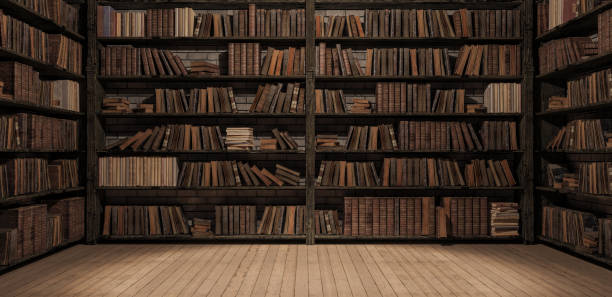Bookshelves in the library with old books 3d render picture id1082069478?b=1&k=6&m=1082069478&s=612x612&w=0&h=dqhhvaahy56dj6bhnwhrv9wzylcx3 g5ekawzep7t7w=