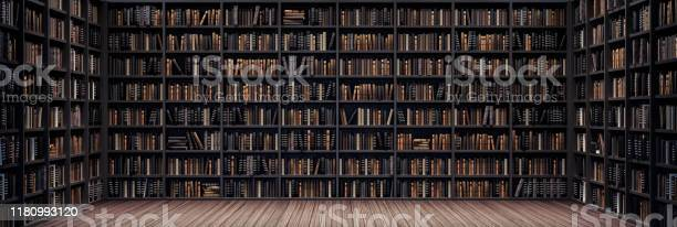 Bookshelves in the library with old books 3d render picture id1180993120?b=1&k=6&m=1180993120&s=612x612&h=v7ajtk9s955kdhazgapn59akby3eknsxipmjri2vhxs=