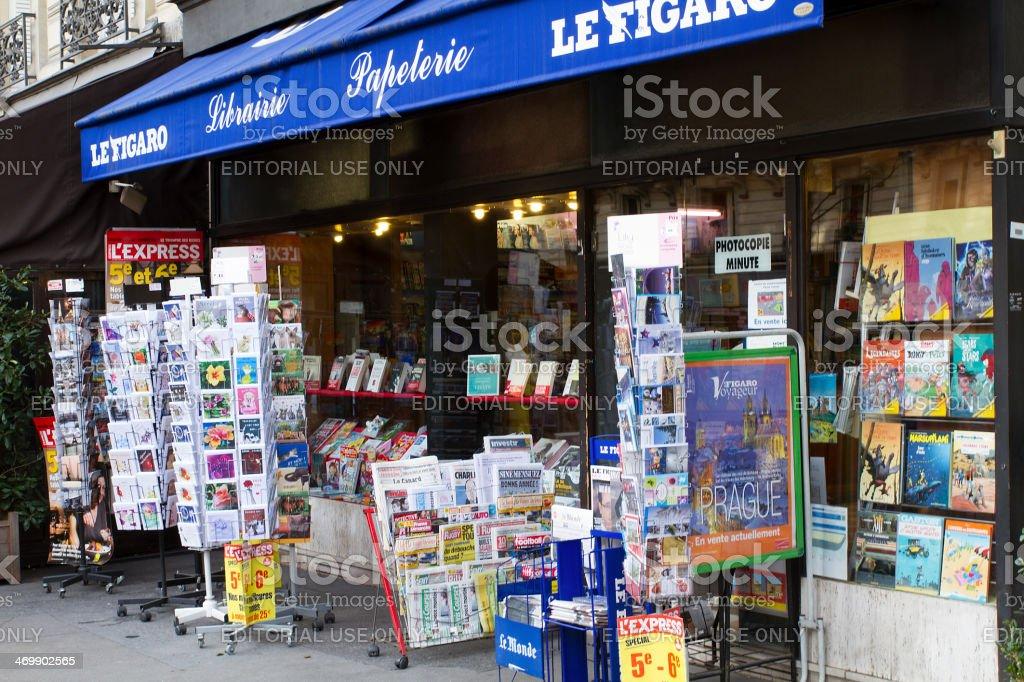 Bookshop Parisian - Royalty-free Book Cover Stock Photo
