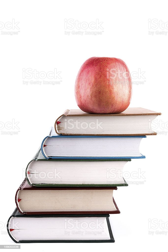 books:Knowledge and growth royalty-free stock photo