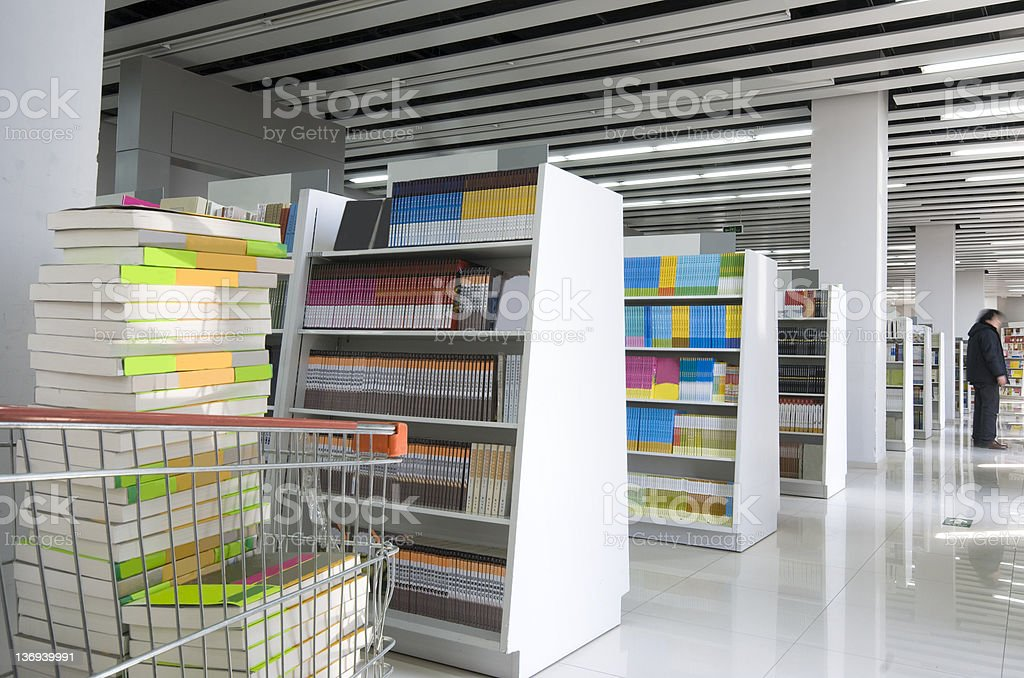 Bookstore royalty-free stock photo