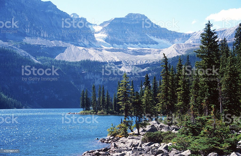 Boom Lake royalty-free stock photo