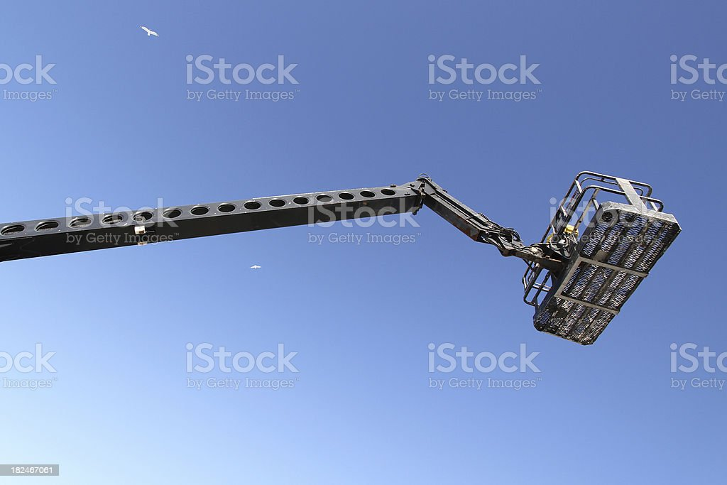 Boom Lift royalty-free stock photo