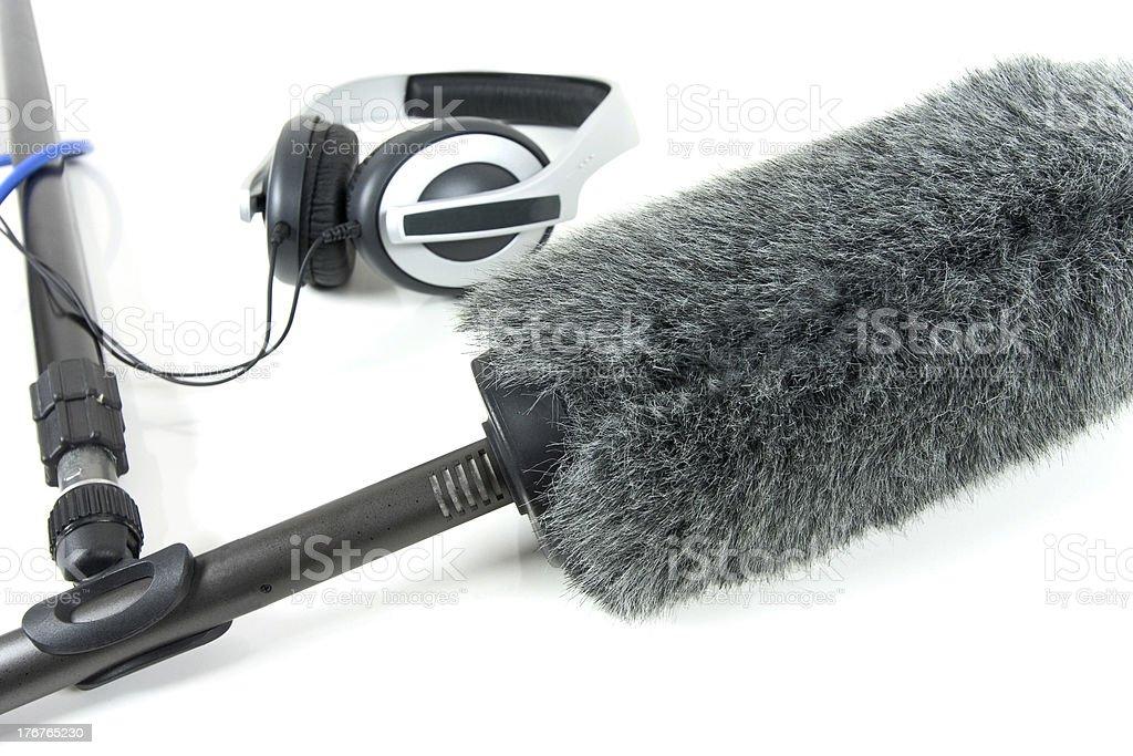 boom mic royalty-free stock photo