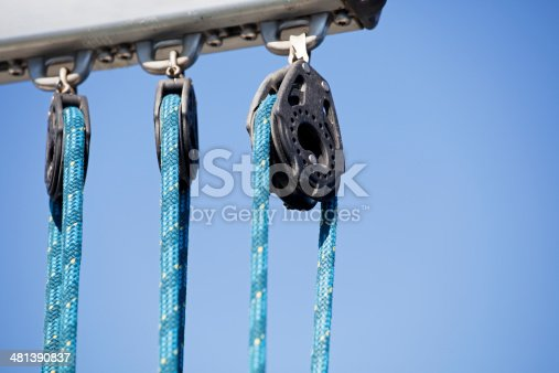 Boom Rope Pulley