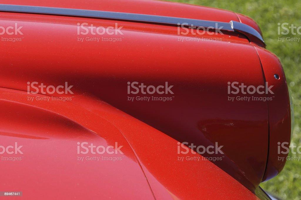 Бумер красный Стоковые фото Стоковая фотография