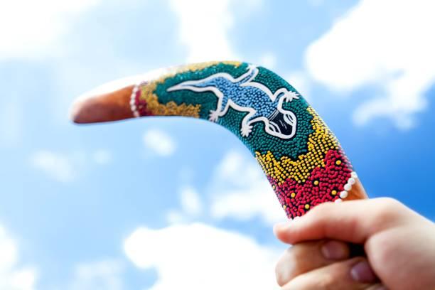 Boomerang. - foto stock