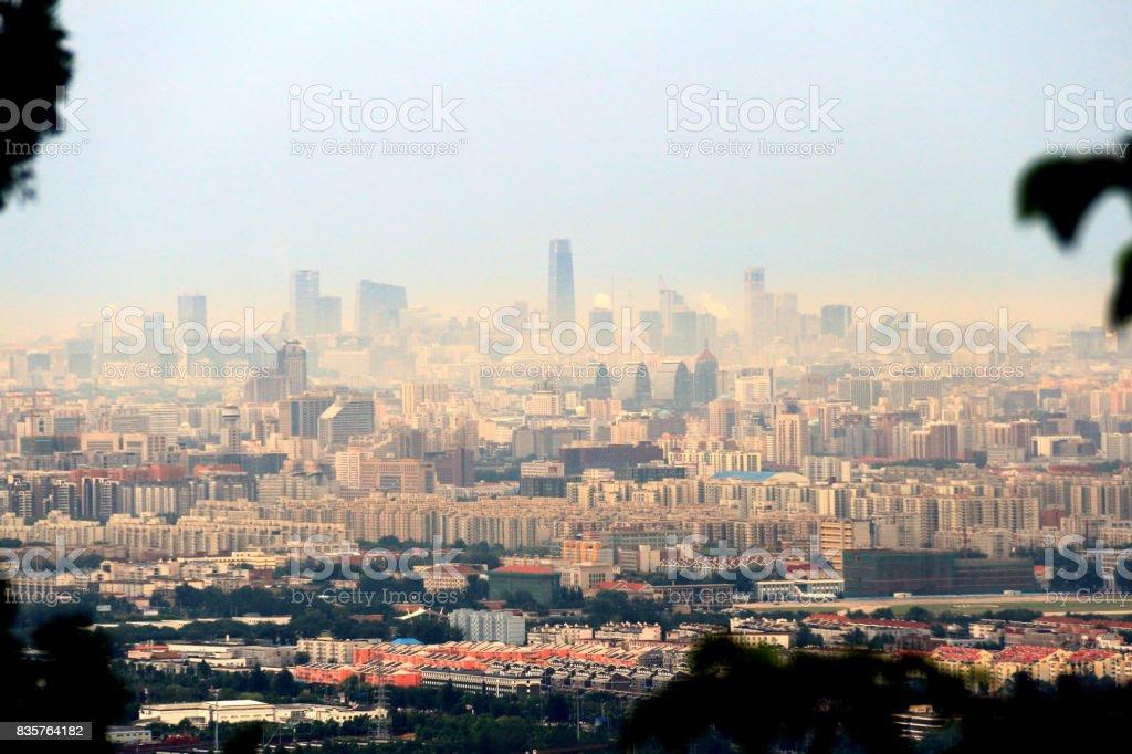 Beijing en auge - foto de stock