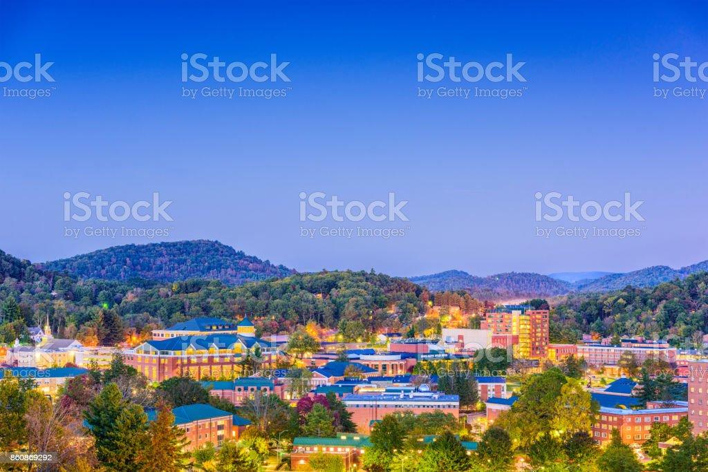 Boone, North Carolina, USA stock photo