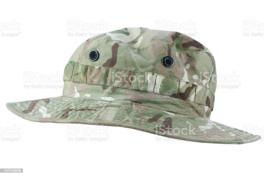 97c5cb1c9ae77b Boonie Hat Isolated On White Background Stock Photo & More Pictures ...
