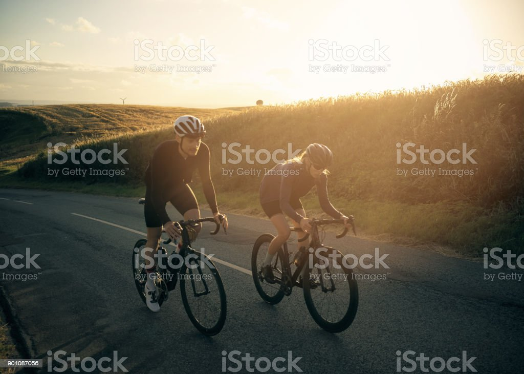 Boosting our fitness stock photo