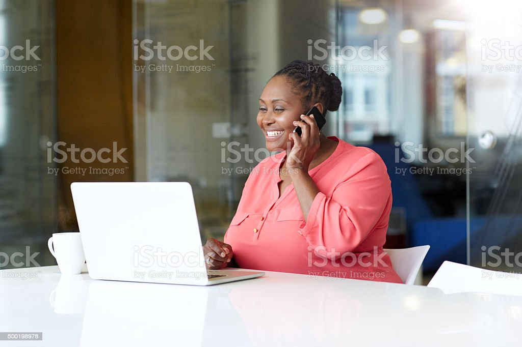 Boosting productivity with effective multitasking stock photo