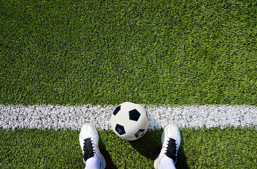istock boot and ball soccer 545442016
