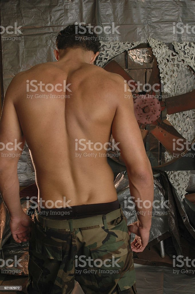 Boot camp stock photo