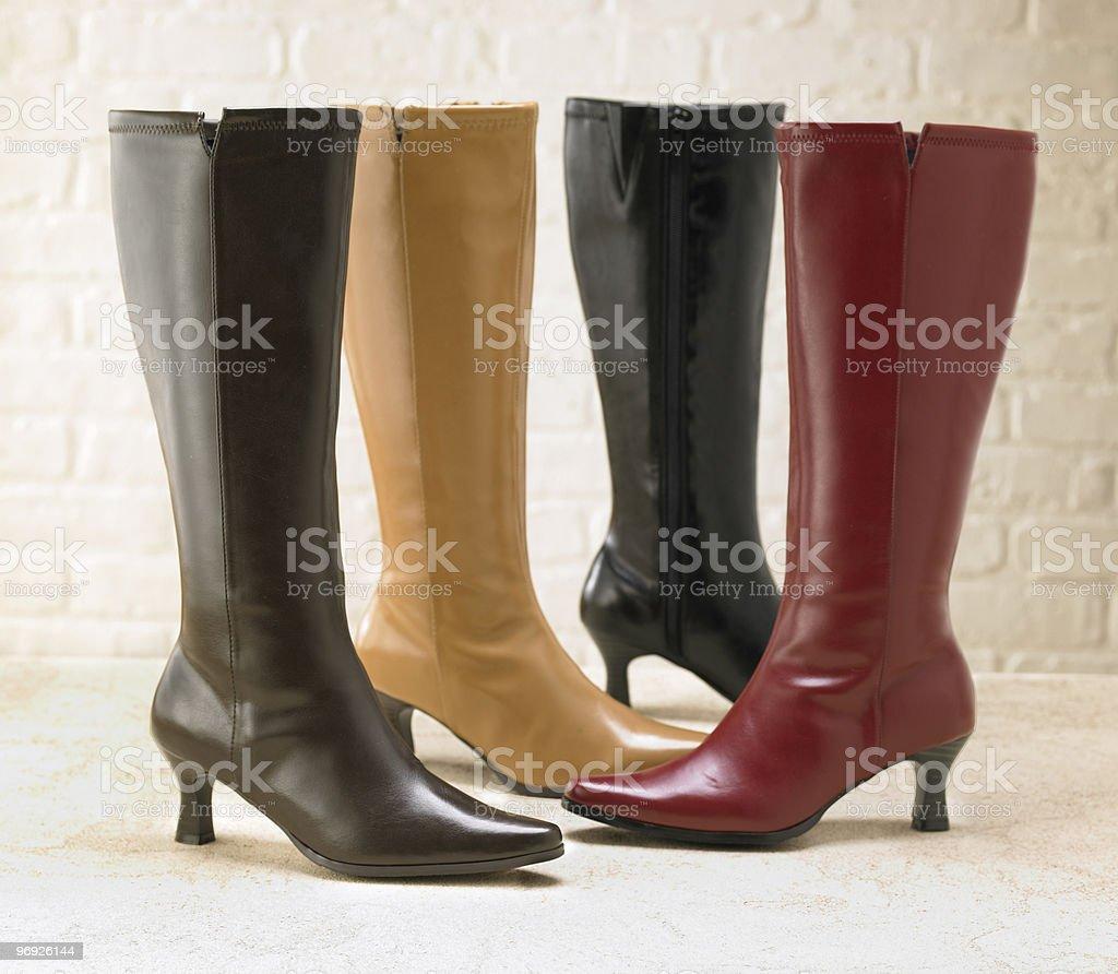 Boot Mania royalty-free stock photo