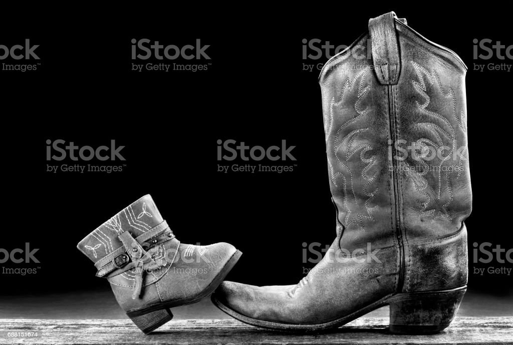 Boot Time. stock photo