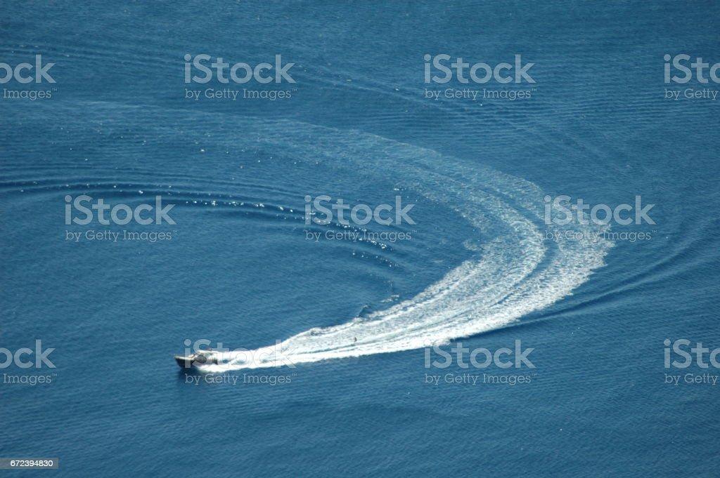 Boote auf dem Mittelmeer - Spanien stock photo