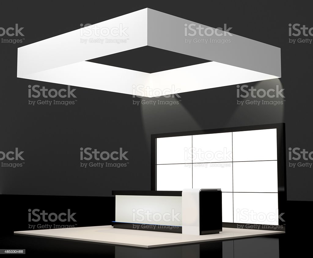 booth information stock photo