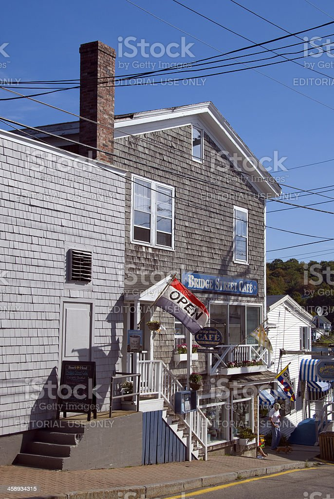 Boothbay Harbor royalty-free stock photo