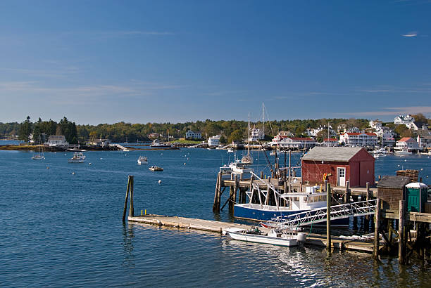 Boothbay stock photo