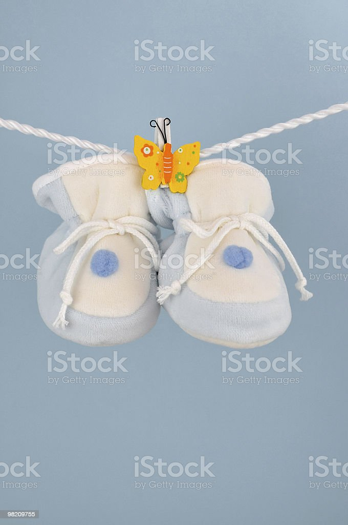 Booties royalty-free stock photo