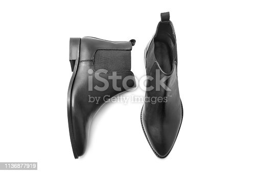 Boots isolated on white