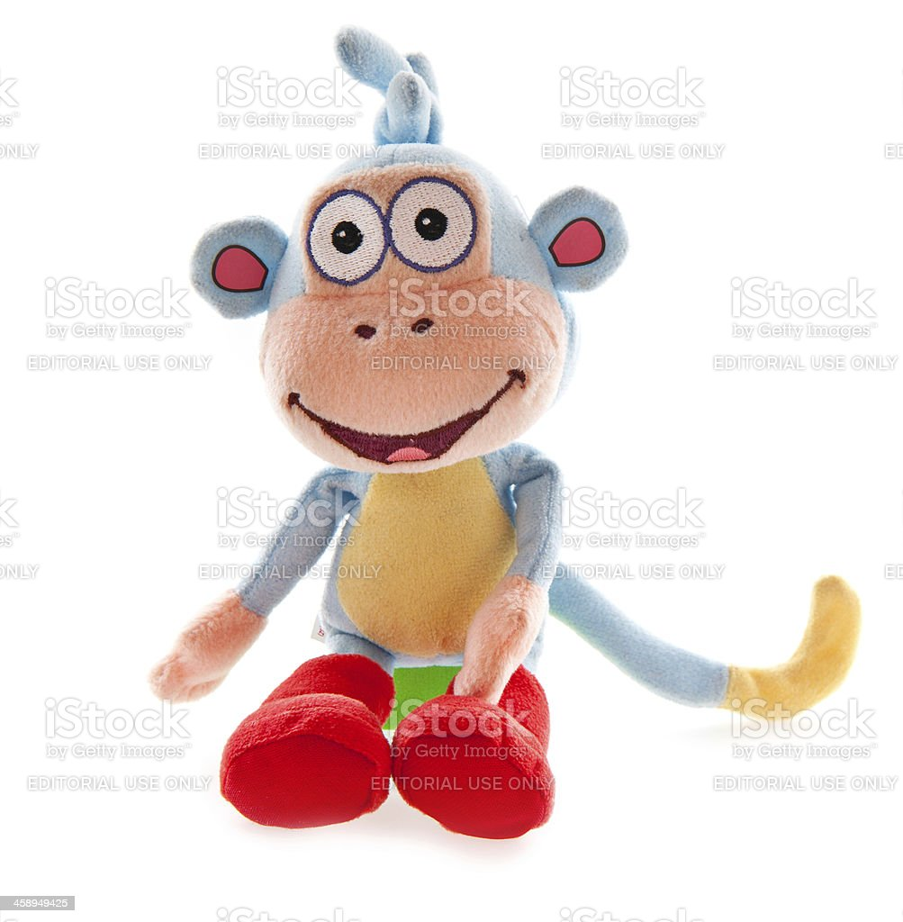 721861c9 Bootsthe Monkey From Dora Explorer Stock Photo & More Pictures of ...