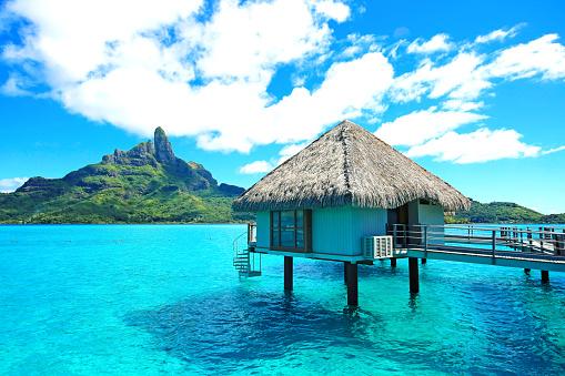 istock Bora Bora Bungalow 518151630