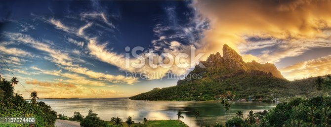 Bora Bora, French Polynesia taken in 2015