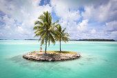 Bora Bora Island Airport Lagoon Islet French Polynesia