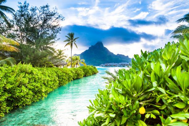 Bora Bora Island, French Polynesia. Bora Bora Island, French Polynesia. south pacific ocean stock pictures, royalty-free photos & images