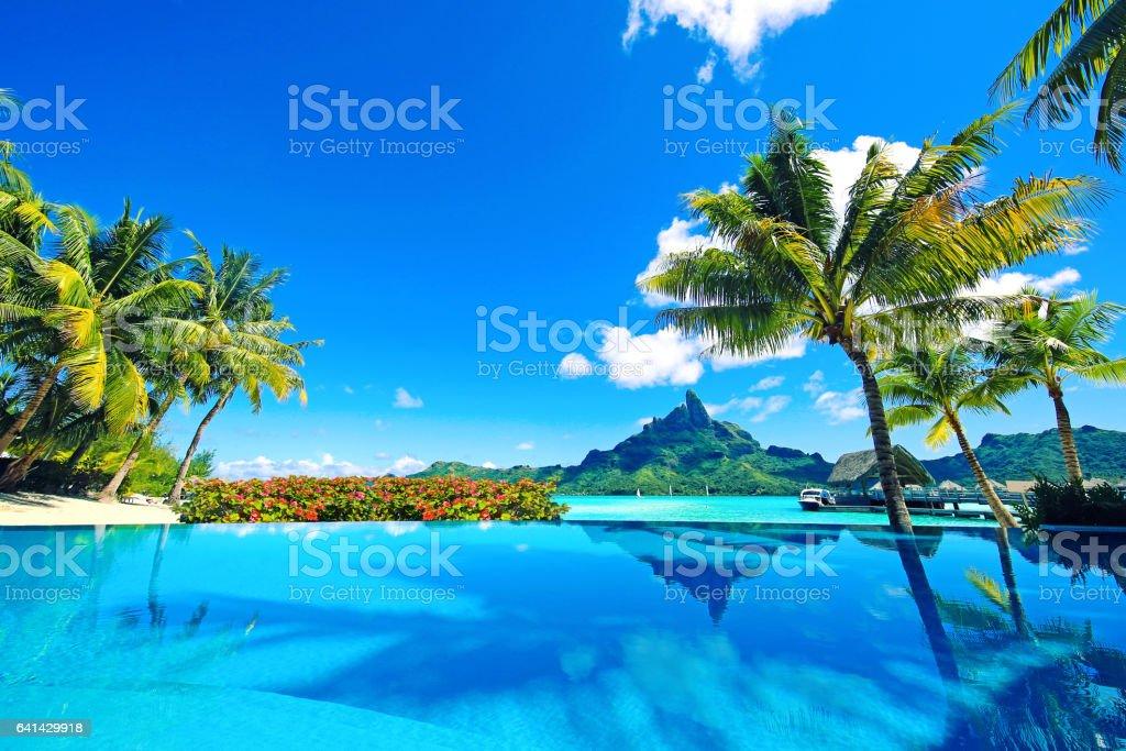 Bora Bora Tahiti French Polynesia stock photo