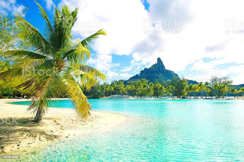 Bora Bora Tahiti - foto de stock