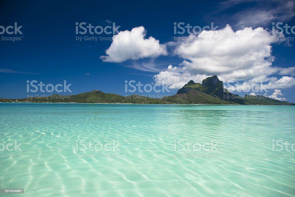 Bora-Bora Island royalty-free stock photo