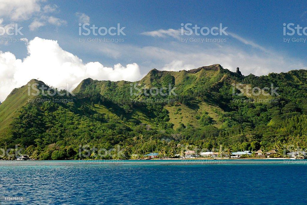 Bora-Bora, Polynesia stock photo