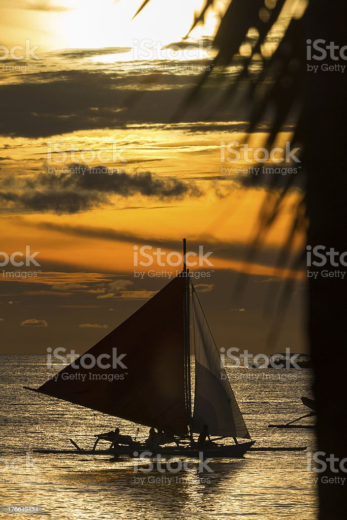 Isla Boracay, Filipinas foto de stock libre de derechos